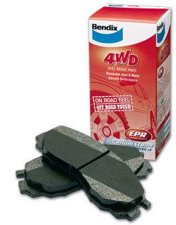 Brake Pad Rear Bendix 4wd