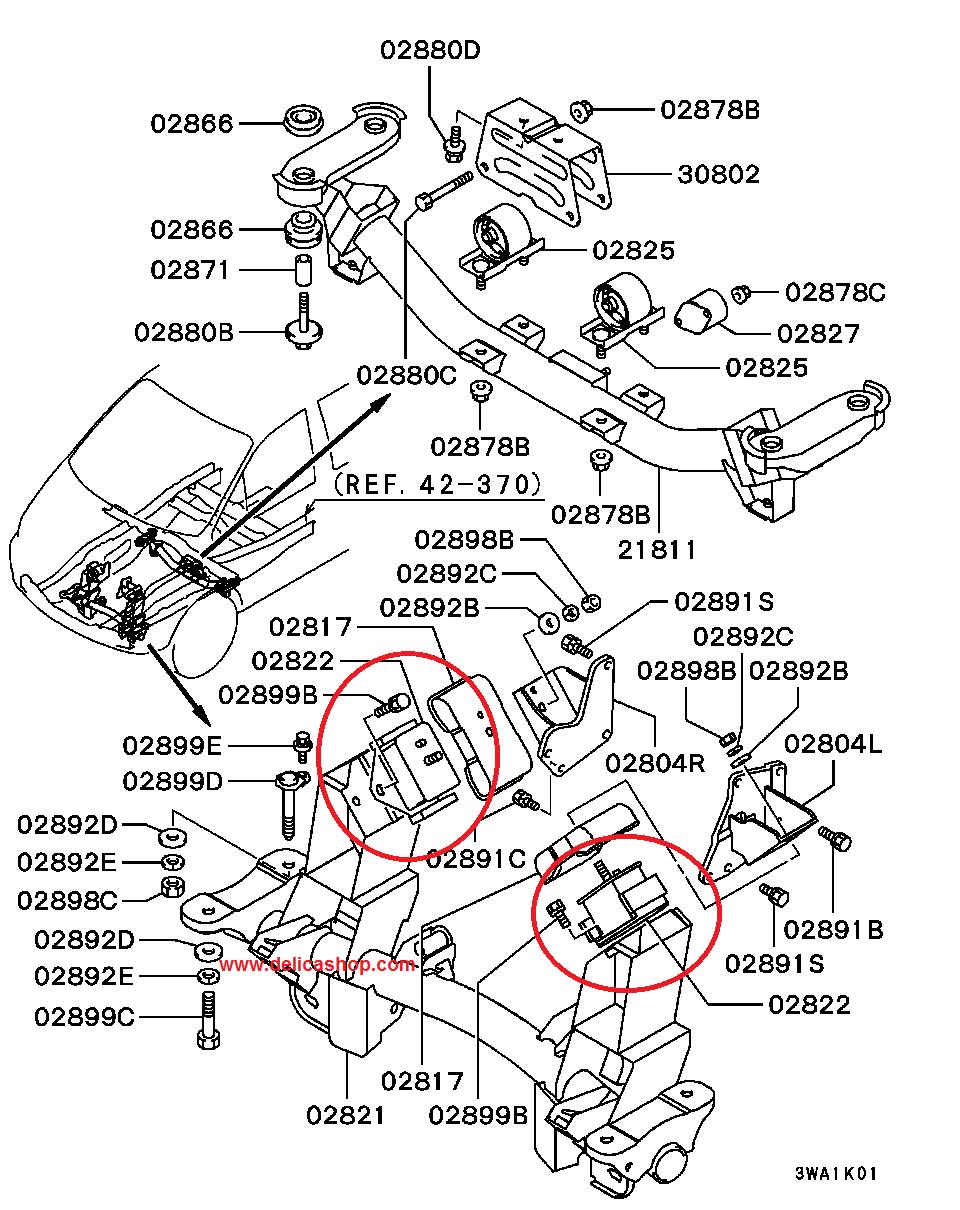 L400 engine mount